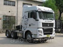 Седельный тягач для перевозки опасных грузов Sinotruk Sitrak ZZ4256V323HD1W