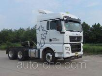 Седельный тягач для перевозки опасных грузов Sinotruk Sitrak ZZ4256V324HD1W