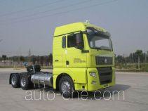 Седельный тягач для перевозки опасных грузов Sinotruk Sitrak ZZ4256V384HE1LW