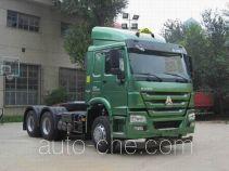 Седельный тягач для перевозки опасных грузов Sinotruk Howo ZZ4257N3247E1W