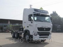 Седельный тягач для перевозки опасных грузов Sinotruk Howo ZZ4257N324WE1W