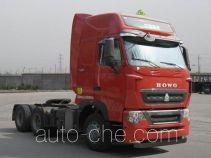 Седельный тягач для перевозки опасных грузов Sinotruk Howo ZZ4257V324HD1W