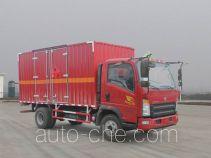 Автофургон для перевозки легковоспламеняющихся жидкостей Sinotruk Howo ZZ5047XRYF341CE145