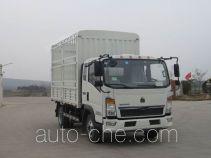 Грузовик с решетчатым тент-каркасом Sinotruk Howo ZZ5087CCYF3314E183
