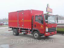 Автофургон для перевозки горючих газов Sinotruk Howo ZZ5087XRQF331CE183