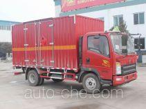 Автофургон для перевозки горючих газов Sinotruk Howo ZZ5107XRQG421CE1