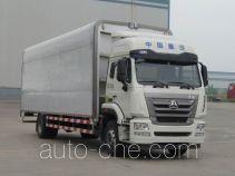 Автофургон с подъемными бортами (фургон-бабочка) Sinotruk Hohan ZZ5185XYKH7113E1