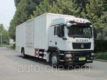 Фургон (автофургон) Sinotruk Sitrak ZZ5186XXYN711GE1
