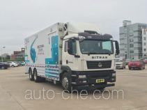 Медицинский автомобиль Sinotruk Sitrak ZZ5266XYLN524GE1