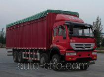 Автофургон с тентованным верхом Huanghe ZZ5314CPYK4766D1