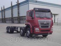 Шасси грузовика с краном-манипулятором (КМУ) Sinotruk Hohan ZZ5315JSQN4266E1